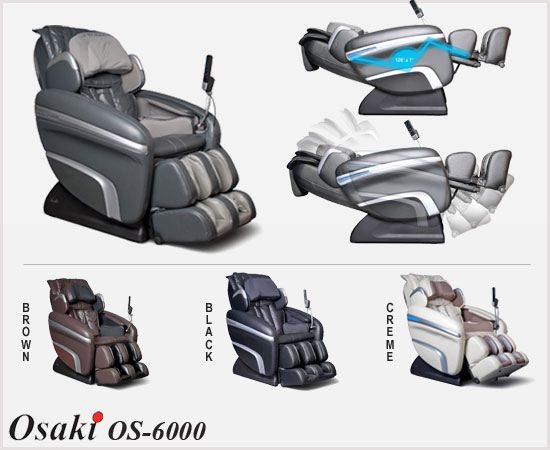 Osaki OS-6000 Zero Gravity Massage Chair
