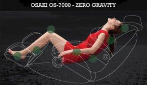 Osaki OS-7075R Zero Gravity Position