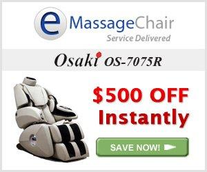Osaki OS-7075R Massage Chair Coupon