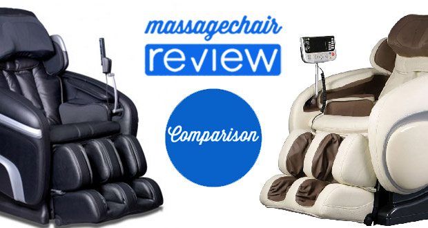 Osaki OS-4000 vs Osaki OS-6000 Massage Chair Comparison