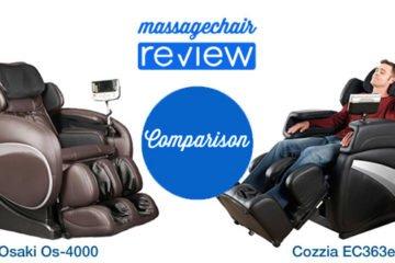 Osaki Os 4000 Vs Cozzia EC363e Massage Chair Comparison