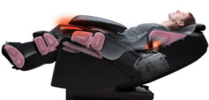 Panasonic EP-MA73 Massage Chair Recline Stretch