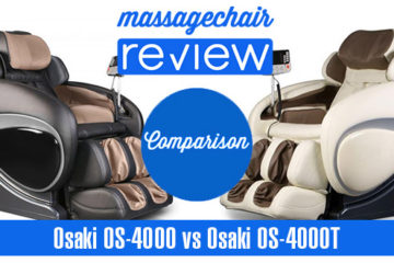 Osaki OS-4000 vs Osaki OS-4000T Massage Chair Comparison