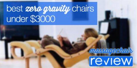 Best Massage Chair Under $3000
