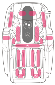 Cozzia Qi Massage Chair Airbags