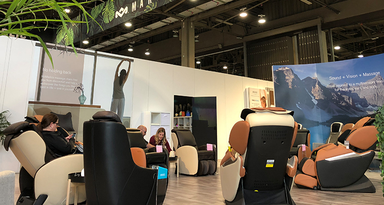 CES 2018 Homedics Massage Chairs