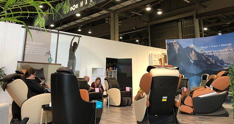 CES 2018 Homedics Massage Chairs