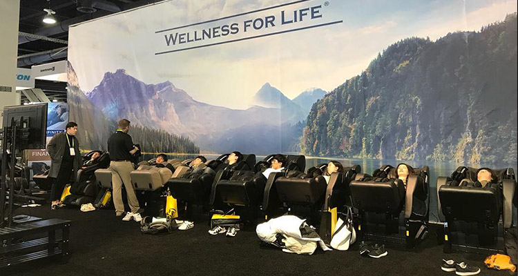 Infinity Presidential Massage Chair CES