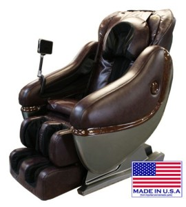 Luraco iRobotics 6SL Massage Chair Brown
