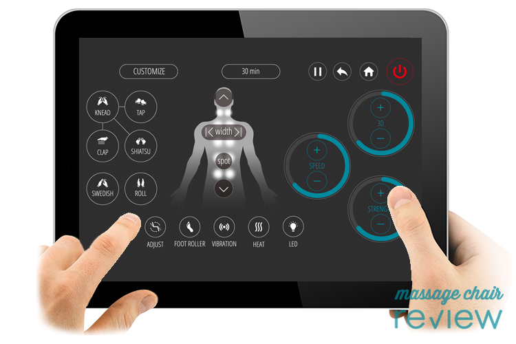 ogawa touch 3d tablet custom massage