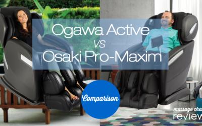 ogawa active osaki os-pro maxim comparison