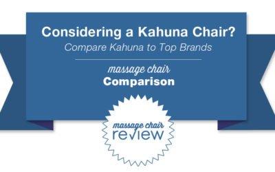 Kahuna Massage Chair Comparison