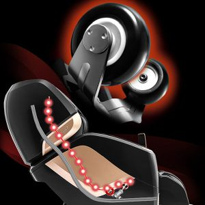 Osaki OS-Pro Maestro Heated Rollers