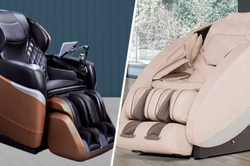 Cozzia Qi vs Human Touch Novo XT2 Massage Chair Comparison