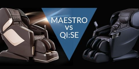 Osaki Pro Maestro vs Cozzia Qi:SE Massage Chair Comparison